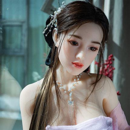 潮影 古装蝶依 硅胶头植发+皮肤仿真经络实体娃娃159cm