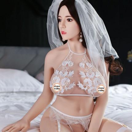 热巴 性感娇喘巨乳拟真实体娃娃 158cm